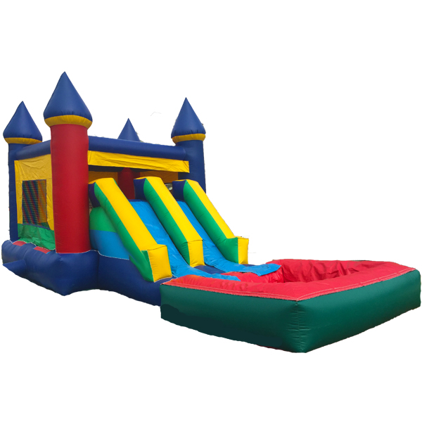 Mini Combo Bounce House Water Dual Slides Britojumpers Com
